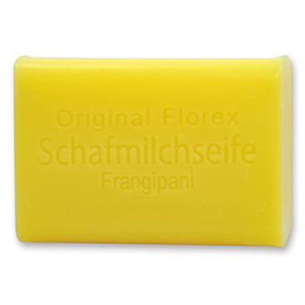 Florex Schafmilchseife - Frangipani - lieblicher Duft der exotischen Wachsblume 100 g