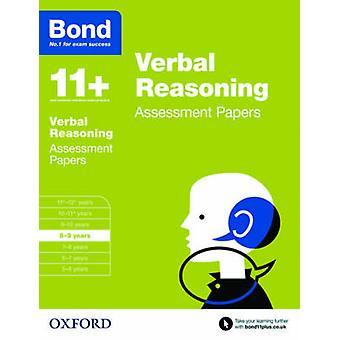 Bond 11+ - Verbal Reasoning - Assessment Papers - 8-9 Years by J. M. Bon