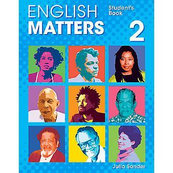 Questões de Inglês (Caribe) nível 2 - livro do aluno por Julia Sander-