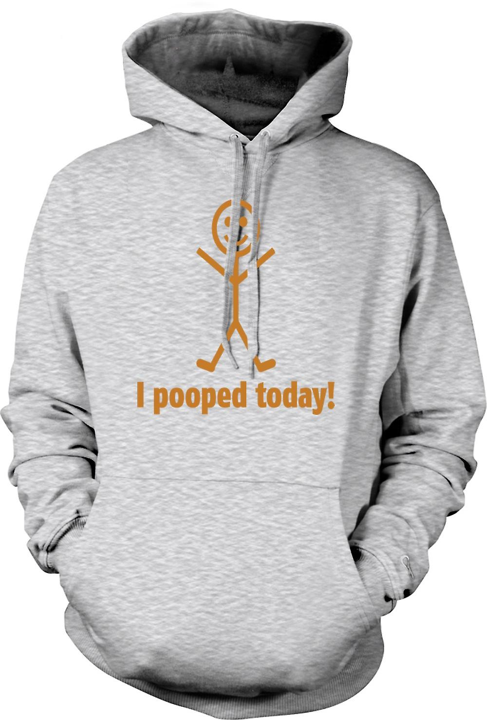 Mens Hoodie - I Pooped Today - Quote