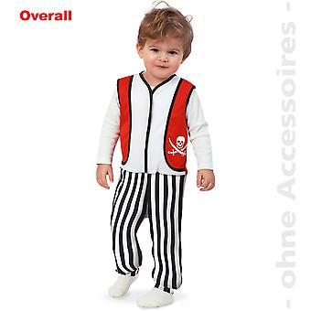 Pirate kids costume jumpsuit toddler pirate child costume