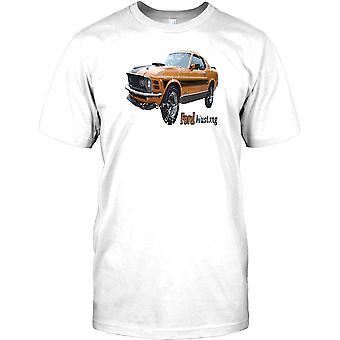Ford Mustang - Original American Muscle Car Kids T Shirt