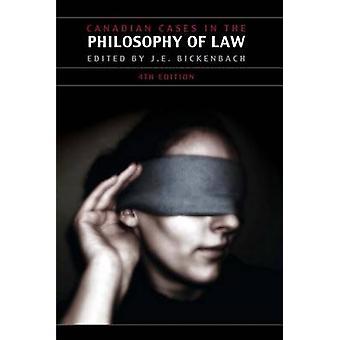 La jurisprudence canadienne dans la philosophie du droit - quatrième édition (4e) par Jer