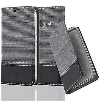 Cadorabo sleeve for Samsung Galaxy J1 2016 - mobile case with stand function and compartment in the fabric design - case cover sleeve pouch bag book