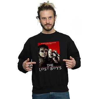 The Lost Boys Men's Red Poster Sweatshirt