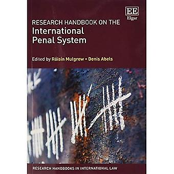 Research Handbook on the International Penal System