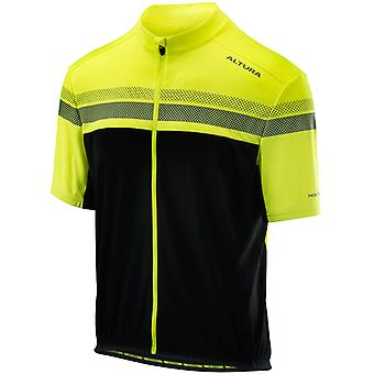 Altura Hi-viz Yellow-Black 2018 Nightvision Short Sleeved Cycling Jersey
