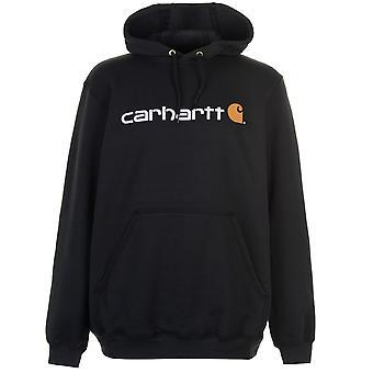 Carhartt Mens Logo Hoodie Top
