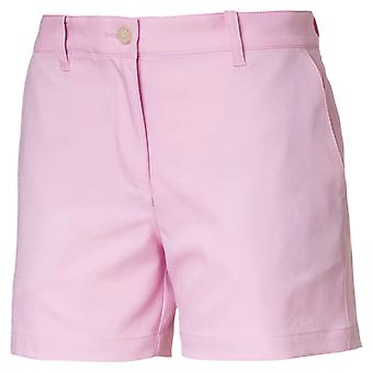 PUMA kids girls woven shorts pale pink