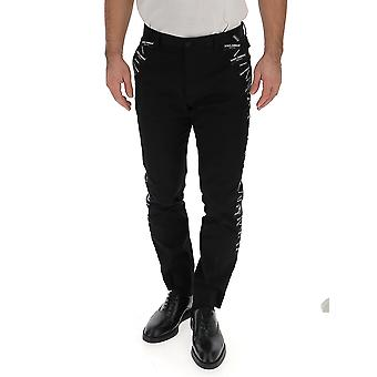 Dolce E Gabbana Black Cotton Jeans