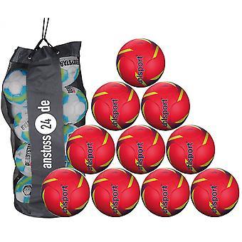 10 x Uhlsport training ball PRO SYNERGY includes ball sack
