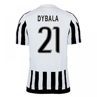 2015-16 Juventus Home Shirt (Dybala 21) - Kids
