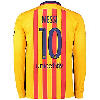 2015-2016 Barcelone manches longues maillot (Messi 10)