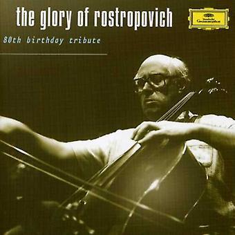 Mstislav Rostropovich - la gloire de Rostropovitch: 80e anniversaire hommage [CD] USA import