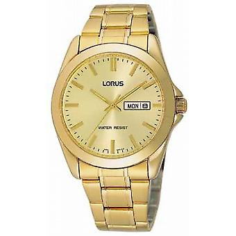 Lorus Mens Gold Plated Bracelet RJ608AX9 Watch