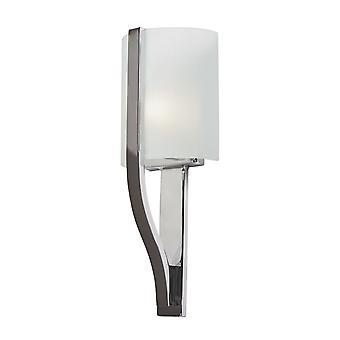 Elstead - 1 Light Wall Light - Polished Chrome Finish - KL/FREEPORT BATH