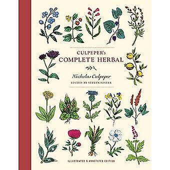 Herbes complètes de Culpeper: édition illustrée et annotée