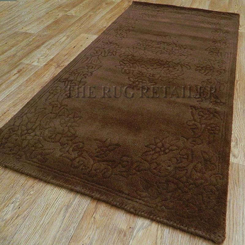 Rugs - Plain Aubusson - Brown