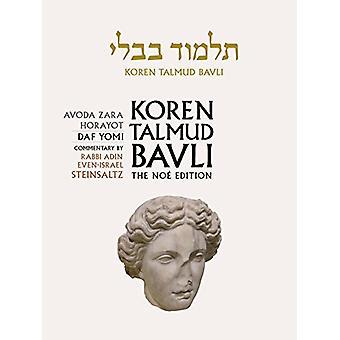 Koren Talmud Bavli, Vol 32 - Avoda Z - 9789653016385 Book