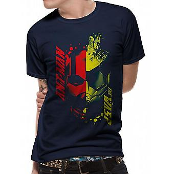 Ant-Man And The Wasp Unisex Head Splat Design T-Shirt