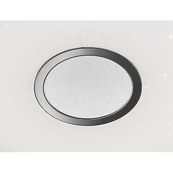 Wofi Kiana - LED 1 Light Flush Plafond Léger Blanc - 9540.01.06.0800