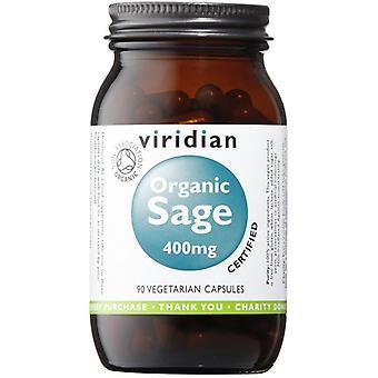 Viridian organiska Sage 400mg veg CAPS 90 (962)