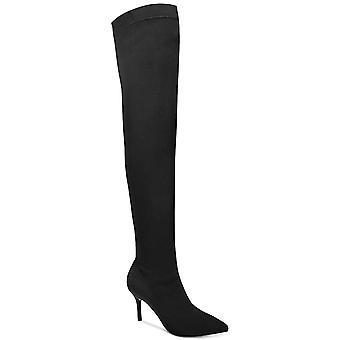 INC internationella begrepp Womens Zaliaa spetsiga tå över knä stövlar mode