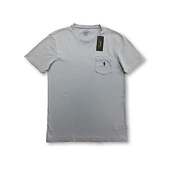 Ralph Lauren Polo custom slim fit T-shirt in course blue