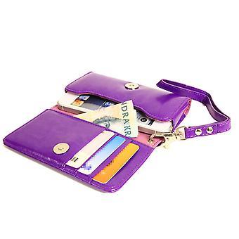Wallet Case Handbag iPhone SE/5S/5/5C/4S + wrist Strap