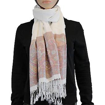 Shawl/shawl/Shawl 100% Pashmina white Multi Color