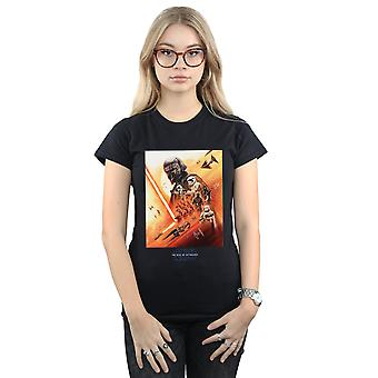 Star Wars The Rise Of Skywalker First Order Poster Women's T-Shirt