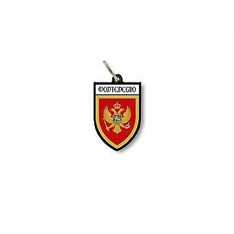 Porte cles clefs cle drapeau collection ville blason montenegro montenegrin