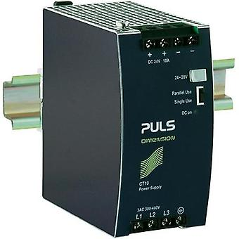 Rail mounted PSU (DIN) PULS DIMENSION CT10.241 24 Vdc 10 A 240 W 1 x