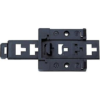 Bopla 22035000 TSH 35 Mounting Rails Bracket Mounting rail holders Black