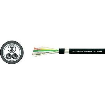 Audio cable 1 x 2 x 0.25 mm² + 2 x 1 mm² Black Helukabe
