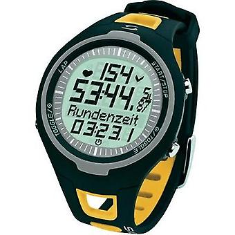 Heart rate monitor watch with chest strap Sigma PC 15.11 Yellow