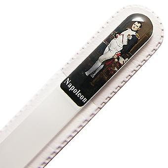 Fichier Napoléon à ongles en verre N3D-28