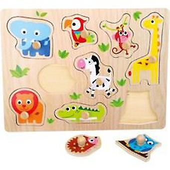 Legler Puzzle fit  Zoo Animals  (Spielzeuge , Brettspiele , Puzzles)