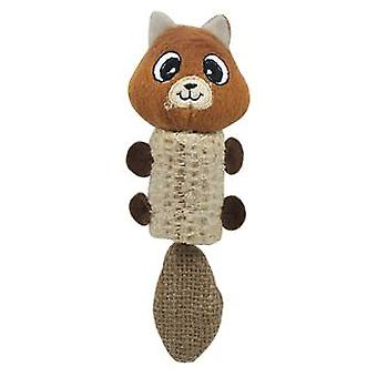 Arquivet Orange And Brown Bear Natural Range (Cats , Toys , Plush & Feather Toys)