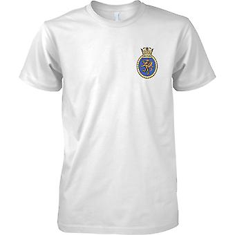 HMS Swiftsure - buque desarmado de la Marina Real t-shirt color