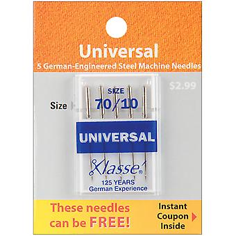 Klasse Universal Machine Needles-Size 10/70 5/Pkg A5100-7010