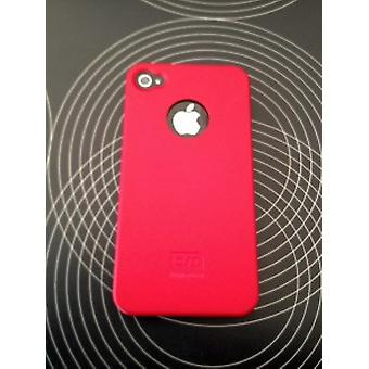 Case-Mate Barely There Hard Cover for iPhone 4 / 4S - Red
