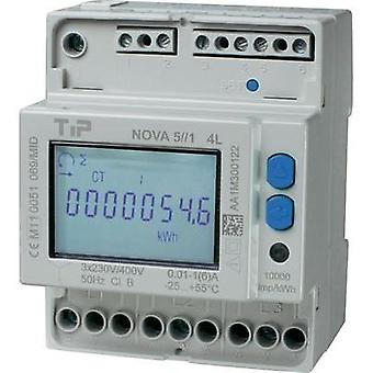 Electricity meter (3-phase) incl. converter jack digital 5 A MID-approved: Yes
