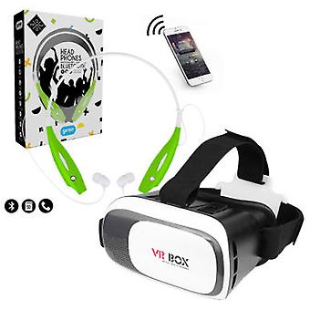 Giros Box 2.0 Vr Ios With Headphones Bt