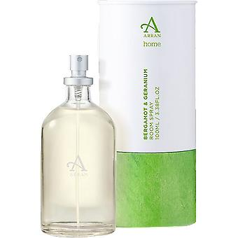 Arran Sense of Scotland Home Bergamot & Geranium Room Spray