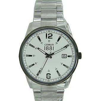 Cerruti 1881 mens watch wristwatch stainless steel CRA103STU04MS