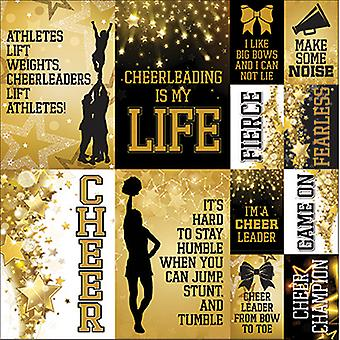 Cheerleading affiches autocollants 12
