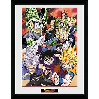 Dragon Ball Z Cell Saga inramade Collector Print