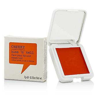 Cheeky Kiss N Tell Lip And Cheek Tint - Flare Play 7g/0.25oz