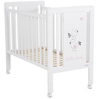 Micuna Cradle 120x60 Little Chick White / Pink